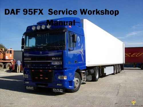 Product picture DAF 95XF Series Workshop Manual full